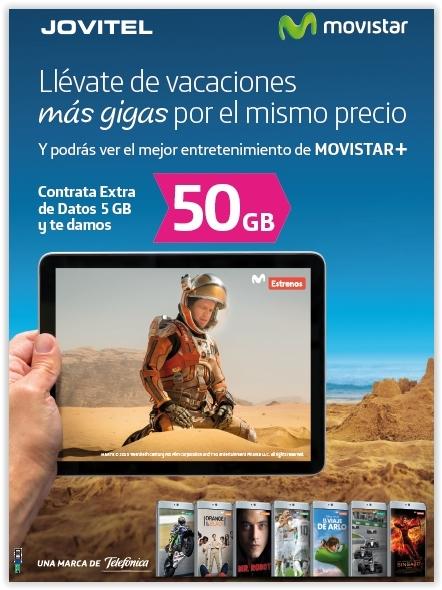 Movistar - Malaga - Jovitel - Más gigas por el mismo precio